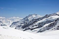 Aletsch glacier Royalty Free Stock Image