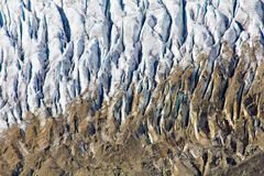 Aletsch Glacier in the Swiss Alps. Mountain view royalty free stock photos