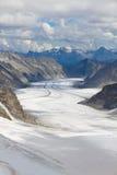 Aletsch glacier, Switzerland Royalty Free Stock Photo