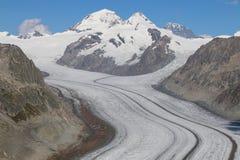 Aletsch Glacier Stock Photos