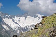 Aletsch Glacier, Valais, Switzerland Stock Image