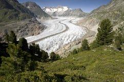 Aletsch Gletscher Lizenzfreie Stockbilder