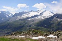 Aletschglacier. Suiza. Foto de archivo