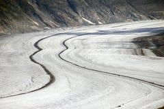Aletschgletscher 免版税库存图片