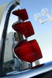 Aletta di coda della retro automobile Fotografia Stock Libera da Diritti