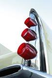 Aletta di coda della retro automobile fotografie stock