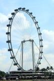 Aletta di filatoio del cielo di Singapore fotografia stock libera da diritti