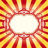 Aletta di filatoio del circo della pagina Immagini Stock