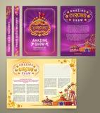 Aletta di filatoio del circo di vettore, insegna royalty illustrazione gratis