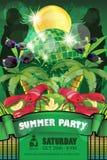 Aletta di filatoio del partito di estate fotografie stock libere da diritti