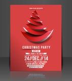 Aletta di filatoio della festa di Natale Immagini Stock Libere da Diritti