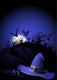 Aletta di filatoio di Halloween Fotografia Stock Libera da Diritti