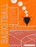 Aletta di filatoio di pallacanestro Fotografia Stock Libera da Diritti