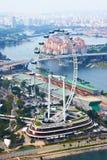 Aletta di filatoio di Singapore immagini stock