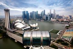 Aletta di filatoio di Singapore Fotografia Stock