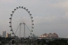 Aletta di filatoio di Singapore - Ferris Wheel più alto del mondo Fotografia Stock Libera da Diritti