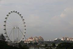 Aletta di filatoio di Singapore - Ferris Wheel più alto del mondo Fotografia Stock