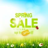 Aletta di filatoio di vendita della primavera Immagini Stock