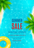 Aletta di filatoio di vendita di estate Immagini Stock