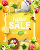 Aletta di filatoio di vendita di Pasqua Fotografie Stock