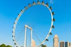 Aletta di filatoio gigante di Singapore della ruota panoramica Immagine Stock