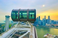Aletta di filatoio di Singapore ed il centro del centro Immagini Stock
