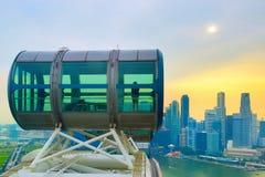 Aletta di filatoio di Singapore di vista aerea del centro Fotografia Stock