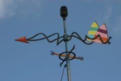 Aletta di vento immagine stock
