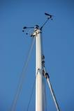 Aletta di vento e sensore di velocità Immagine Stock
