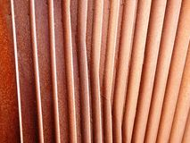 Alette arrugginite 3 del ferro Fotografia Stock Libera da Diritti