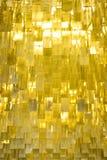Alette del metallo dell'oro Immagine Stock Libera da Diritti
