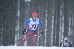 Alevtina Tanygina - Cross Country-Skifahren Lizenzfreie Stockbilder