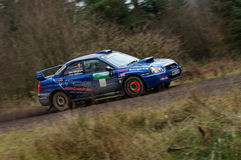 Alex Allingham - Subaru Impreza Royalty Free Stock Photography