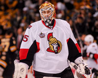 Alex Auld Ottawa Senators Royalty Free Stock Photography