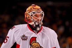 Alex Auld Ottawa Senators Stock Photo