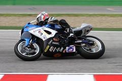 Alex Baldolini #25 auf Suzuki GSX-R 600 NS Suriano Corse Supersport WSS Lizenzfreies Stockfoto