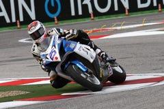Alex Baldolini #25 en Suzuki GSX-R 600 NS Suriano Corse Supersport WSS Imágenes de archivo libres de regalías