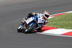 Alex Baldolini #25 su Suzuki GSX-R 600 NS Suriano Corse Supersport WSS Immagine Stock