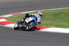 Alex Baldolini #25 su Suzuki GSX-R 600 NS Suriano Corse Supersport WSS Immagini Stock