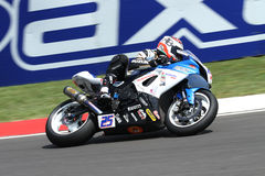Alex Baldolini #25 on Suzuki GSX-R 600 NS Suriano Corse Supersport WSS Royalty Free Stock Photography