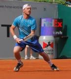 Alex Bogomolov de la Russie, tennis 2012 Images libres de droits