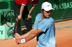 Alex Bogomolov, Jr. (USA) at Roland Garros 2011 Royalty Free Stock Photo