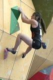 alex bouldering puccio USA Fotografering för Bildbyråer