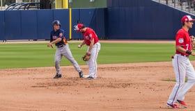 Alex Bregman Houston Astros 2017 Royalty-vrije Stock Afbeelding