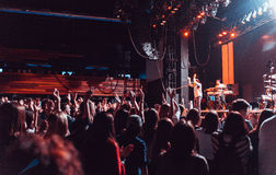 Alex Clare performing live in Moscow Royalty Free Stock Images