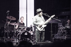 Alex Clare performing live in Moscow Royalty Free Stock Photo