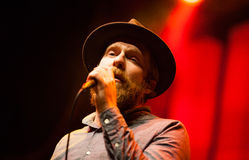 Alex Clare performing live in Moscow Royalty Free Stock Photos