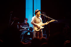 Alex Clare performing live in Moscow Stock Images