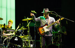 Alex Clare performing live in Moscow Royalty Free Stock Image