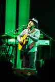 Alex Clare performing live in Moscow Stock Photo
